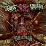 PULMONARY FIBROSIS / ENTRENCHED INGURGITATION / BRAIN SPASM 3 Way Split CD