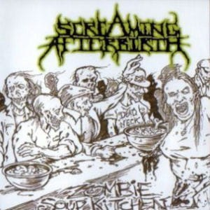 STOMA / SCREAMING AFTERBIRTH Unreleased Shit / Zombie Soup Kitchen CD