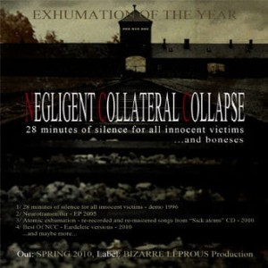 NEGLIGENT COLLATERAL COLLAPSE 28 Minutes Of Silence… CD