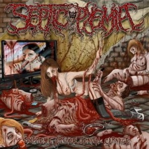SEPTICOPYEMIA Supreme Art Of Genital Carnage CD