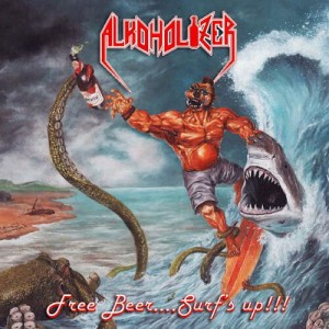 ALKOHOLIZER Free Beer… Surf's Up!!! CD