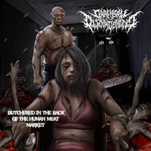 CHAINSAW DISGORGEMENT Butchered In The Back Of The Human Meat Market CD