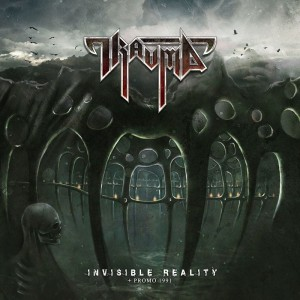 TRAUMA Invisible Reality + Promo 1991 CD