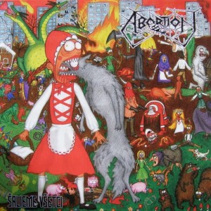ABORTION / CAD Split LP
