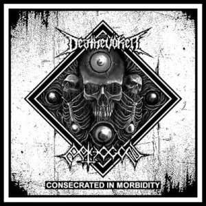 PATHOGEN / DEATHEVOKER Conscerated In Morbidity CD