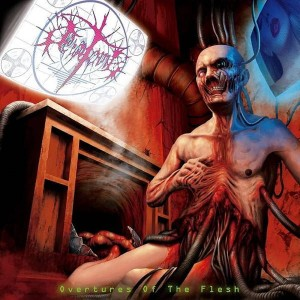 TERATOMA Overtures Of The Flesh CD