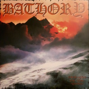 BATHORY Twilight Of The Gods 2LP