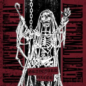 GRAVEYARD / ULCER Of Ancient Metal And Eternal Death EP
