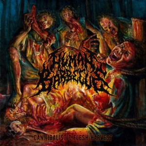 HUMAN BARBECUE Cannibalistic Flesh Harvest CD
