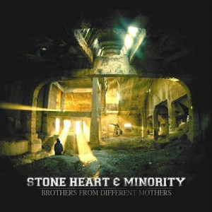 STONE HEART / MINORITY Brothers From Different Mothers LP (Red)