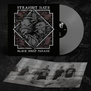 STRAIGHT HATE Black Sheep Parade LP (Grey)