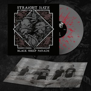 STRAIGHT HATE Black Sheep Parade LP (Splatter)