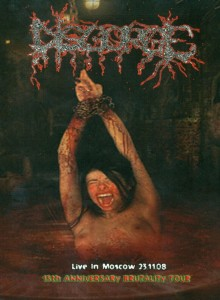 DISGORGE Live In Moscow 23.11.08 – 15th Anniversary Brutality Tour DVD