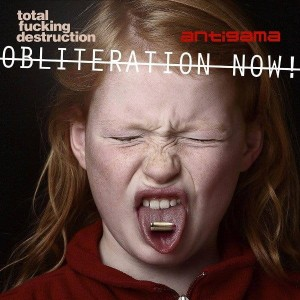 ANTIGAMA / TOTAL FUCKING DESTRUCTION Obliteration Now! EP (White)