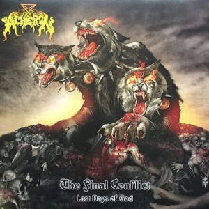 ACHERON The Final Conflict: Last Days Of God LP