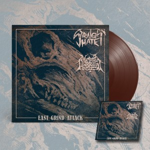 STRAIGHT HATE / NUCLEAR HOLOCAUST East Grind Attack EP (Brown)