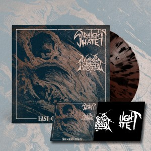 STRAIGHT HATE / NUCLEAR HOLOCAUST East Grind Attack EP (Splatter)