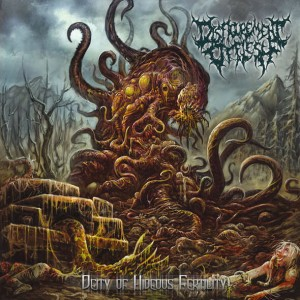DISFIGUREMENT OF FLESH Deity Of Hideous Fertility CD