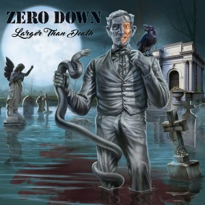 ZERO DOWN Larger Than Death LP
