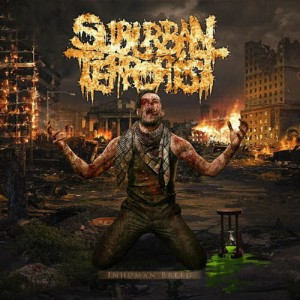 SUBURBAN TERRORIST Inhuman Breed CD